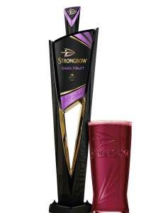 Strongbow Dark Fruits set to launch on-trade in March, supported by POS and a big advertising push. Beer Packaging, Packaging Design, Beer Tower, Beer Taps, Alcohol, Product Launch, Marketing, Fruit, Pos