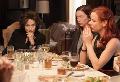 Still of Juliette Lewis, Meryl Streep and Julianne Nicholson in August: Osage County(2013)
