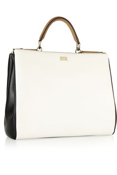 Dolce & Gabbana | The Sicily large leather tote | NET-A-PORTER.COM