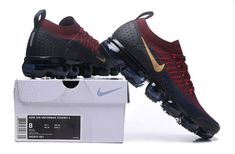 Online Nike Air VaporMax Flyknit 2. 0 W Burgundy Gold Navy Blue 942842 601 Mens Running Shoes Summer Trainers 942842-601 Nike Air Vapormax, Mens Nike Air, Nike World, Kicks Shoes, Men's Shoes, Komplette Outfits, Nike Tennis, Jeans And Sneakers, Nike Sneakers