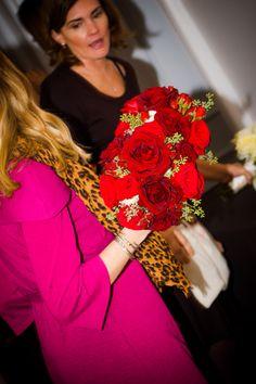 Merrimon-Wynne House - Raleigh NC Wedding Venues -  Roses - Flowers - Wedding Bouquet
