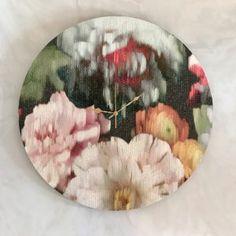 Cinnabar Clock - 60cm Shop Clocks - Kirsty Badenhorst Interiors | Ikat & Ivory | Online Store Ikat, Clocks, Decorative Plates, Ivory, Interiors, Tableware, Handmade, Shopping, Home Decor