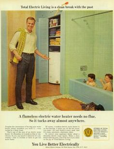 Total Electric Living is a clean break with the past:  You Live better Electrically.
