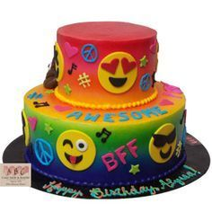 emoji cakes and cupcakes - Google Search