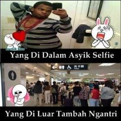 Selfie Toilet