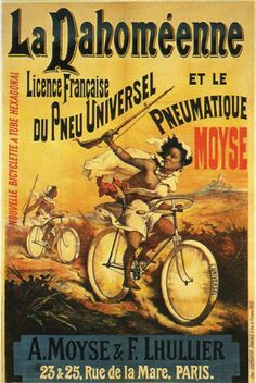 1894 BICYCLETTE LA DAHOMEENNE