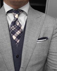 New Sprezzatura : Photo includes copy, graphics, message, action item, etc. High Fashion Men, Suit Fashion, Fashion 2016, Sharp Dressed Man, Well Dressed Men, Wedding Men, Wedding Suits, Style Gentleman, Denim Top