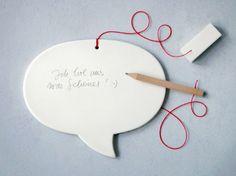 Speech Balloon Gift Tag