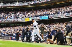 NEW YORK, NY - APRIL 07: Derek Jeter #2 of the New York Yankees is introduced on to the field for his final home opener against the Baltimore Orioles before their game on April 7, 2014 at Yankee Stadium in the Bronx borough of New York City. (Photo by Al Bello/Getty Images)