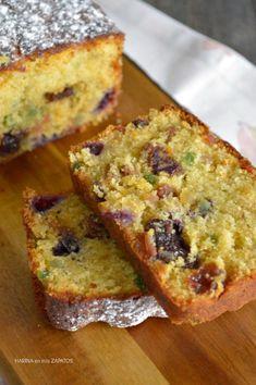 BIZCOCHO DE FRUTAS | Con Harina en Mis Zapatos Snacks To Make, Easy Snacks, Bunt Cakes, Cupcake Cakes, Brownie Recipes, Cake Recipes, Delicious Desserts, Yummy Food, Plum Cake