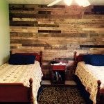 Pallet Wall Paneling for Bedroom