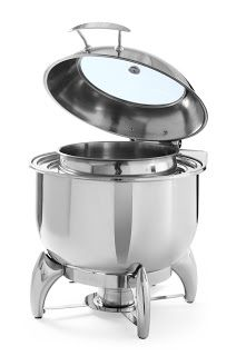 Chafing Dish Rotund - Amenajari HoReCa Kitchen Aid Mixer, Kitchen Appliances, Shops, Chafing Dishes, Catering, Diy Kitchen Appliances, Home Appliances, Tents, Catering Business