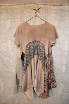 Shabby Chic Plus Size, Boho Romantic, Junk Gypsy Style, Bohemian Lagenlook, Mori Girl Style