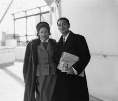 Gala and Salvador Dali, c. 1950
