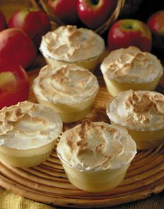 Apple Desserts, Mini Desserts, Healthy Desserts, Bakery Recipes, Dessert Recipes, Cooking Recipes, Mini Cakes, Cupcake Cakes, Kefir