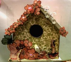 General Crafts Gallery: Spring Birdhouse  by CherryTat  ACOT