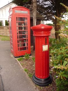 Telephone Box & Post Box Mudeford, Dorset #England #UK