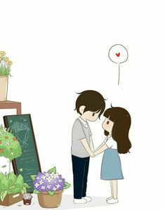 Ideas Wall Paper Cartoon Couple Illustrations For 2020 Cartoon Love Photo, Cute Couple Pictures Cartoon, Cute Couple Comics, Cute Couple Drawings, Cute Love Wallpapers, Cute Couple Wallpaper, Cute Cartoon Wallpapers, Cute Love Couple, Anime Love Couple