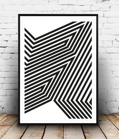 Minimalist black and white print for your home, great minimalist decor to put on your gallery wall. Dimensions available:  5 x 7 8 x 10  11 x 14  A4