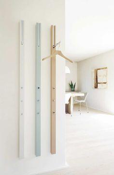 Appendiabiti a muro / moderno / in MDF laccato - LINE by Apartement 8 - Schönbuch