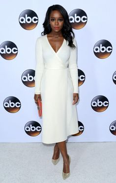 devoutfashion:   Aja Naomi King - ABC TCA 'Winter Press Tour 2015