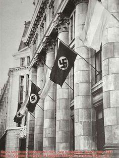 Reconquista134- Banco Alemán  Transatlántico- año 1943. Hoy el edificio se llama Reconquista Plaza, fue sede del Deustche Bank, , Bank of Boston  y Provincia art.