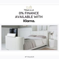 Combining elegance and style✨ - Coming with a warranty and FREE delivery, our Alpha Tv bed offers complete piece of mind 🛏️ Visit us in-store or check it out online now! Tv Beds, Free Delivery, Mattress, Luxury, Store, Check, Home Decor, Decoration Home, Room Decor