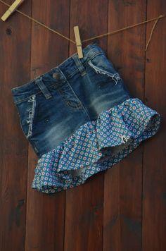GagaYa: Jeans-Recycling Rock.