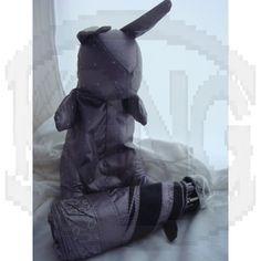 Sun protection umbrella 01 rabbit-lilac