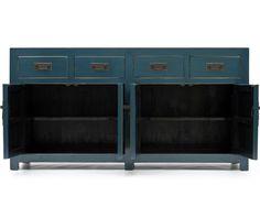 Sideboard - 4 Drawer   Mandarin   Orchid Furniture UK