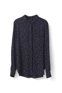 Rosemont Crepe Shirt
