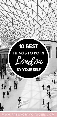 Traveling London alone and looking for some unique, budget-friendly ways to enjoy the city as a solo traveler? Check out my guide to the best 10 things to do in London on your own! Europe Destinations, Europe Travel Tips, European Travel, Travel Advice, Travel Guides, Holiday Destinations, British Travel, Travel Stuff, Travel Hacks
