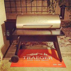 My new bae #traeger #chefhobbies Reposted Via @chefemdill