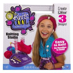 <div>Knitting needles are a thing of the past—it's time for the Knitting Revolution! The Knit's ...