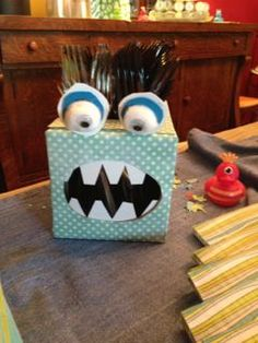 with me...I can make a lot of these with my allergies going amuck...tissue box collection starting