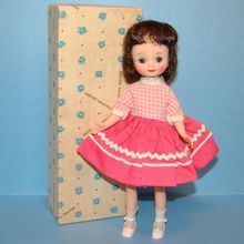 C1960s Betsy McCall Doll Original Box Brunette Recess Outfit American Character. A real charmer.