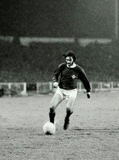 George Best of Northern Ireland in 1970.