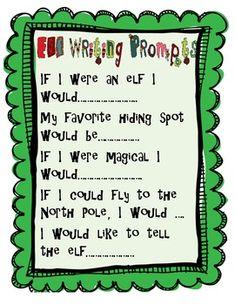 Free Elf on the Shelf Activities