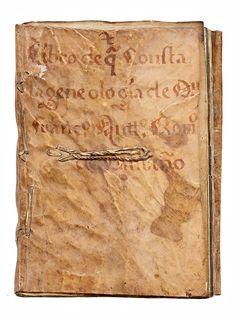 Memorial de hidalguía, 1762 Memorial de hidalguía, 1762 'Libro de qt consta la geneologia (sic) de Dn. Fran(cisco)co. Ant(oni)o. Rom(er)o. de Camaño'. Manuscrito. 6 láminas, 109 hojas. Encuadernación en pleno pergamino de época
