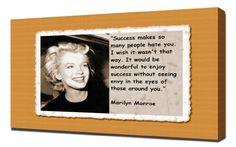 Marilyn Monroe Quotes 8 - Canvas Art Print Pingoo Prints http://www.amazon.com/dp/B00IIVPXUK/ref=cm_sw_r_pi_dp_V614ub03B4GJM