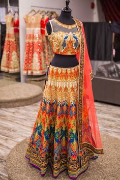Buy Dazzling Tissue Anarkali Lehenga online in India at best price.atest dazzling tissue anarkali lehenga for festival, party and reception Indian Attire, Indian Ethnic Wear, Indian Style, India Fashion, Asian Fashion, Fashion 2018, Women's Fashion, Fashion Design, Indian Dresses