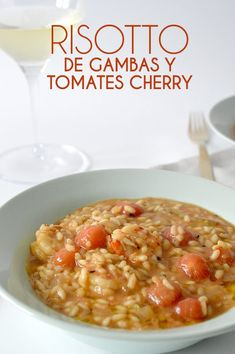 RISOTTO DE GAMBAS Y TOMATES CHERRY - ALL YOUR SITES