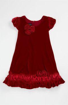 Isobella & Chloe Velvet Dress (Infant) available at #Nordstrom
