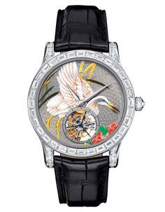 Jaeger-LeCoultre montre Master Grand Tourbillon Enamel http://www.vogue.fr/joaillerie/shopping/diaporama/l-invitation-au-voyage-montres-metiers-d-arts-japonisants/16840/image/894066#!jaeger-lecoultre-montre-master-grand-tourbillon-enamel
