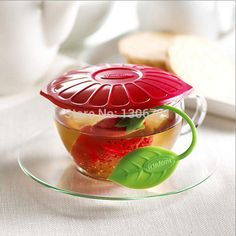 Best Wholesale-Strawberries Tea Bags Tea Strainers Silicone Teaspoon Filter Infuser Silica Gel Filtration Online with $2.71/Piece | DHgate