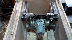 Table saw lift siystem