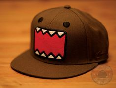 Check it out! Domo flat-billed baseball cap