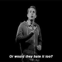 @ the Broadway League, Give Ben Platt a Tony based on this gif alone pls k thank