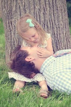 Father daughter pose – love!