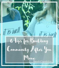 6 Tips for Building a New Community After a Move  | www.spousehood.com